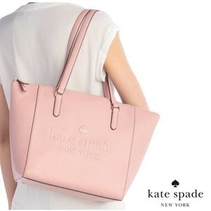 Kate Spade Sienne Large Leather Logo Tote Bag NWT